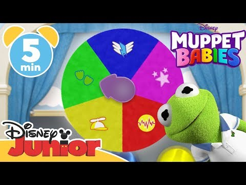 Muppet Babies Learn The Colours Disney Junior Uk
