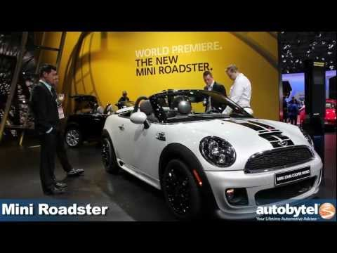 Mini Roadster at the 2012 Detroit Auto Show - Video