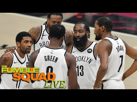 Nets Worried They Won't Have Enough Time To Build Chemistry With Harden, Kyrie & KD Before Playoffs?