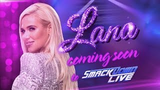 Lana is on her way to Team Blue: SmackDown LIVE, April 25, 2017