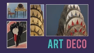 Architectural Style : Art Deco & the Chrysler building