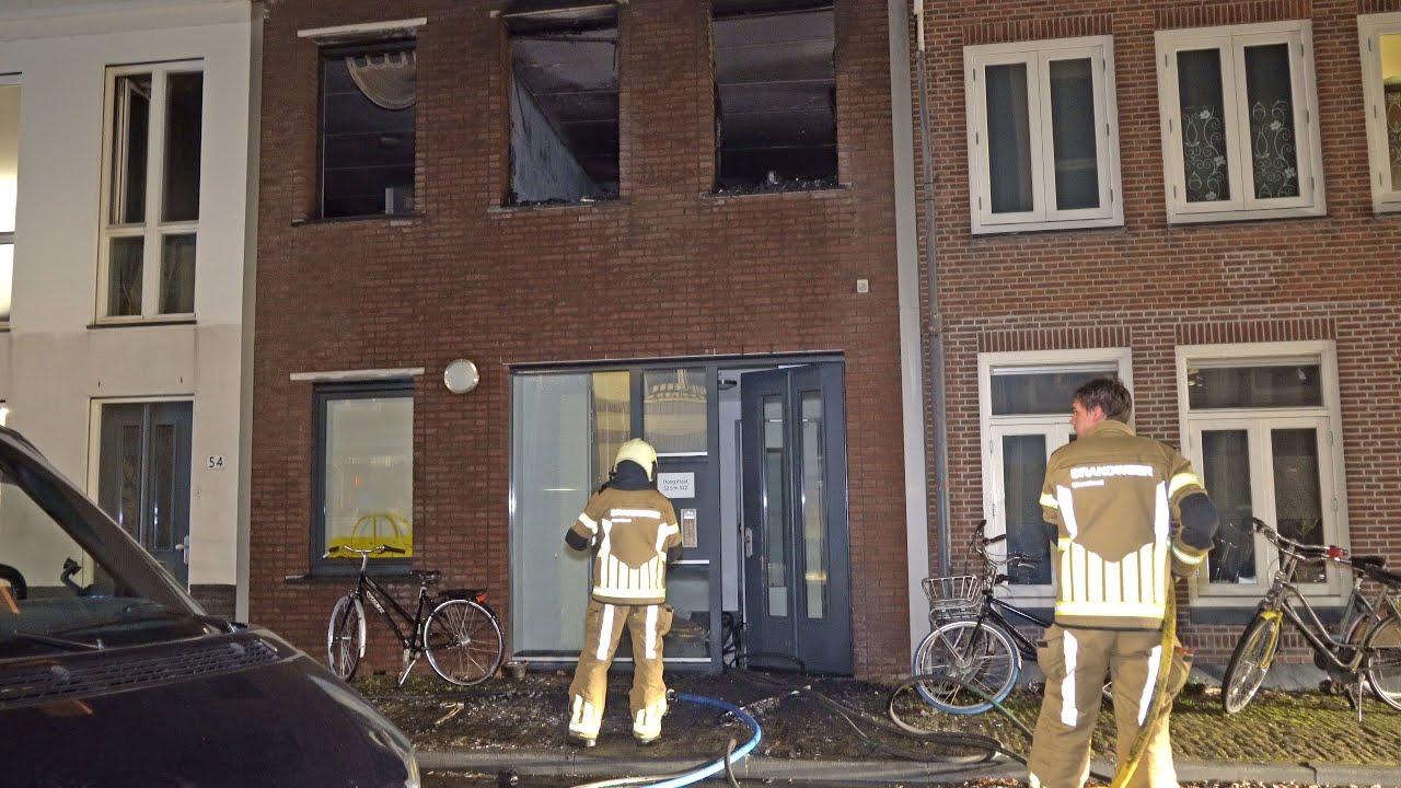 Grote brand zorginstelling Zwolle