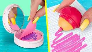 11 Đồ Dùng Học Tập DIY Bạn Cần Phải Thử/Trò Đùa Học Đường Và Mẹo Vặt