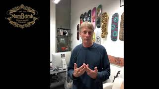 Tony Hawk Knows the Deal! Listen to Him Speak About Mom Bombs!