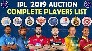 rcb team 2019 players list