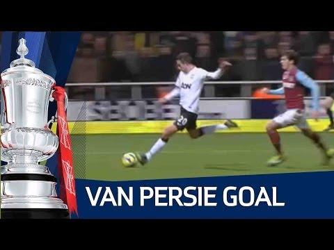 Last Minute Van Persie Goal vs West Ham - FA Cup 3rd Round | FATV | MTW