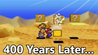 Hitting this Block for 416 Years Crashes Paper Mario