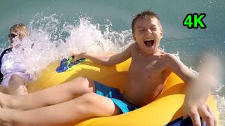 KIDS WATERSLIDES - Giant Outdoor Park Fun for Kids Riding Tubes Family Playtime Toys Fun Play