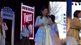 Voices of Liberty Singing Disney Songs (& More) at Epcot