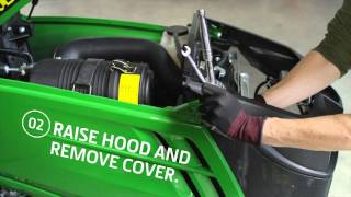 How To Change Your Air Filter - John Deere 1025R