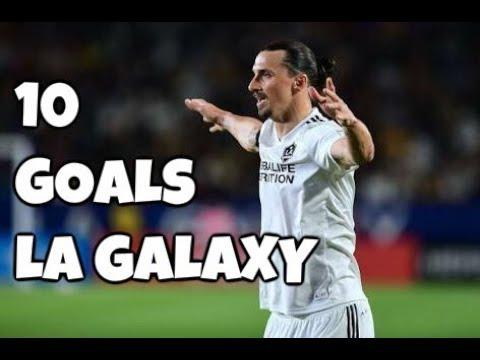 Zlatan Ibrahimovic All 10 Goals La Galaxy 2018 HD