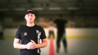 Ice and inline Hockey Drill Build & Improve Speed Quick Starts Reaction & Acceleration