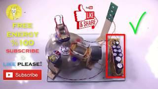 Elektrik Bobini İle Sınırsız Elektrik Üretimi | FREE ENERGY