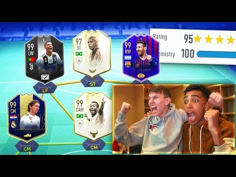 195 RATED!! - MESSI vs RONALDO 195 FUT DRAFT!! (FIFA 19)