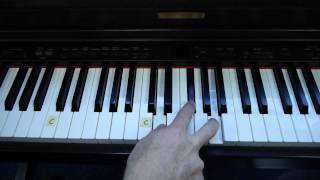 """Easy-to-Play Piano """"The Anchor Holds"""" - (Matt McCoy)"""