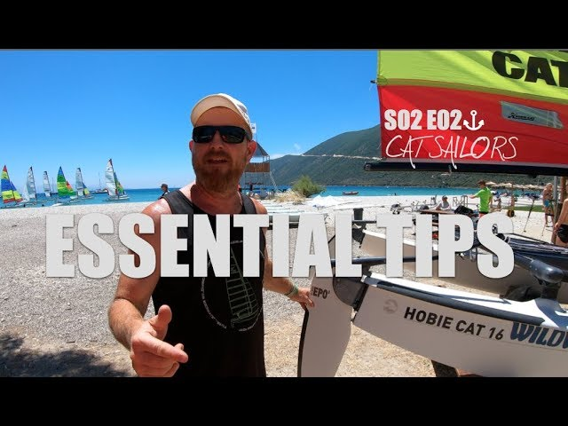 Quick tips for catamaran sailors   S02 E02   rudders and downhaul