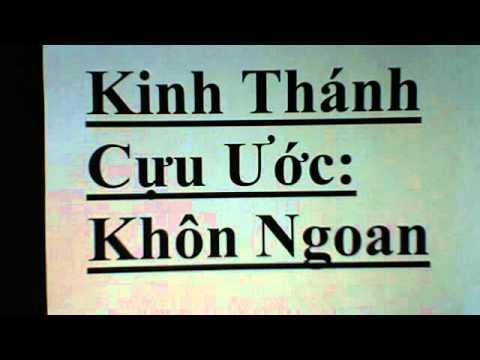 October 5, 2012   Kinh Thánh Cưu Ước sách : Khôn Ngoan /Old Testament, Books of Wisdom