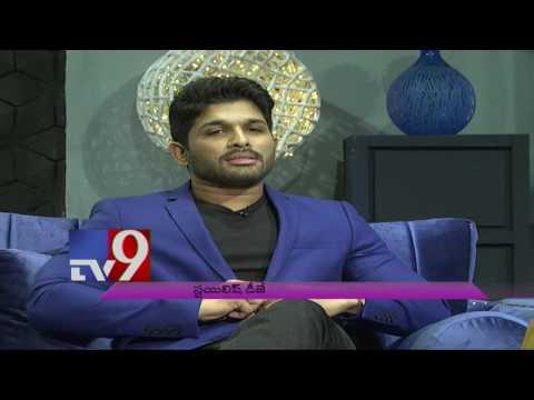 Stylish Star Allu Arjun In A Fun Filled Interview On DJ with TV9 !