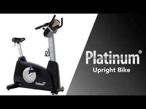 Promovideo: Rotoped TUNTURI PLATINUM Upright Bike PRO
