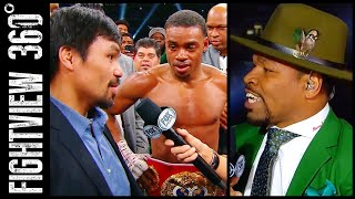 PAC WON'T FIGHT ERROL? TOO OLD! A DUCK? SPENCE PORTER PPV TALKS? PACQUIAO THURMAN OR MIKEY LIKELY?