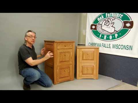 Solid Oak File Cabinets – The Oak Furniture Shop