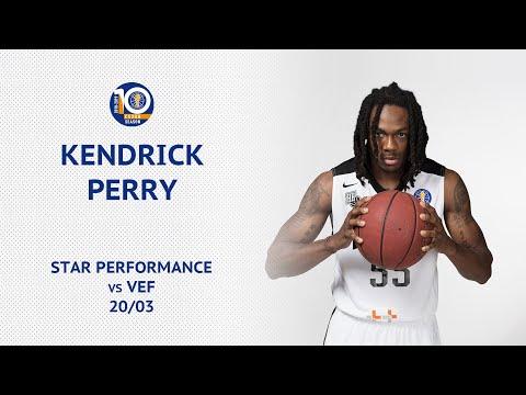Star Performance. Kendrick Perry vs VEF - 31 PTS, 8 AST, 10/12 FG, 37 EFF