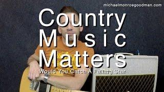 Would You Catch A Falling Star - Michael Monroe Goodman