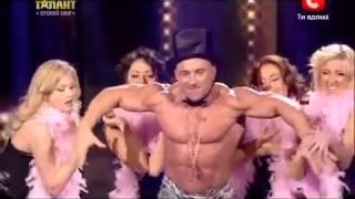 Украина мае талант 4   АНДРЕЙ ШАРАПОВ   2 полуфинал   2012 супер качок в мире