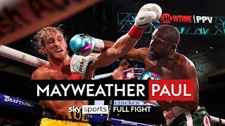 Floyd Mayweather v Logan Paul   Full Fight   6th June 2021