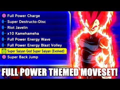 Full 'Full Power' Themed Moveset! | Dragon Ball Xenoverse 2