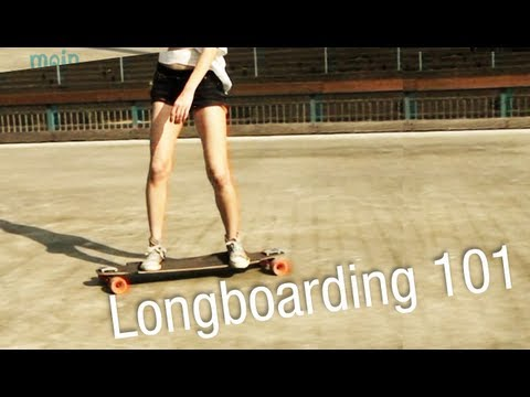 Longboard lernen für Anfänger: Bremsen, Lenken, Pushen