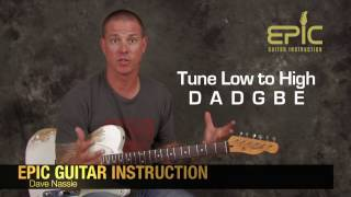 Learn The Devil in I by Slipknot guitar song lesson chords tuning fast picking heavy