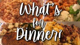 WHAT'S FOR DINNER WEDNESDAY// EASY FAMILY DINNER IDEAS