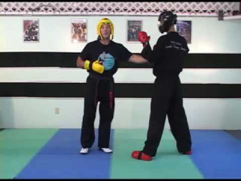 Building Roundhouse Kick Response Speed and Timing Drill