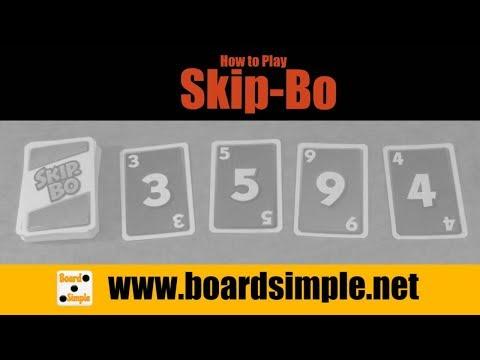 How to Play - Skip-Bo
