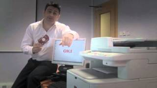 OKI MFP  How to install Printer & Scanner via Network