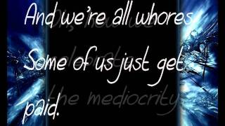 Chiodos- Two birds stoned at once lyrics