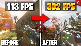 Best Settings for High FPS! (Config & Autoexec) - Apex Legends Tutorial