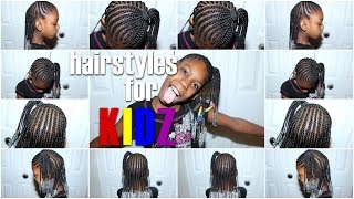 Hairstyles for KIDZ! Braids n' Beads: Half up/Half Down