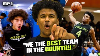 """Jalen Green STARS In The Prolific Prep REALITY SHOW! """"We Got The BEST Athletes In The World"""" 😱"""