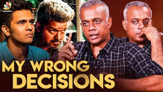 GVM -மை நோக்கி பாயும் தோட்டா | Gautham Menon Interview | Vijay, Dhanush, Karthick Naren | ENPT Movie