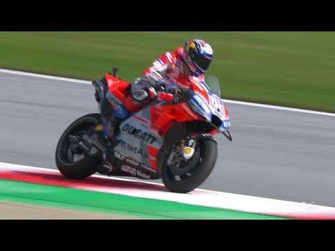 Ducati talk about the Austrian GP
