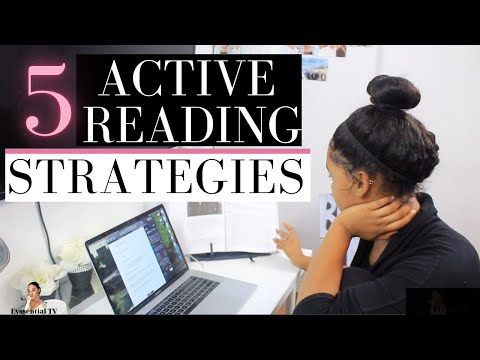5 Active Reading Strategies for University Students in 2020   BEST WAYS to INCREASE COMPREHENSION