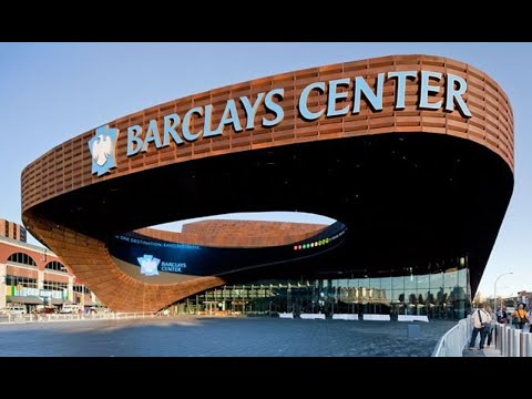 Delivering a show to the Barclays Center in Brooklyn, NY