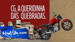 Honda CG – A Queridinha Das Quebradas