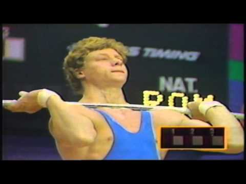 Olympics 1984 Mens Weightlifting.