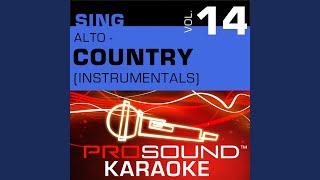 The Flame (Karaoke Instrumental Track) (In the Style of Trisha Yearwood)