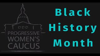 Michigan Progressive Women's Caucus: Black History Month 2019