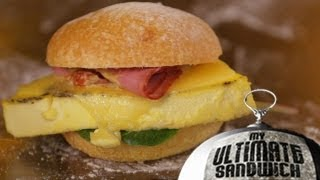 Famous Egg & Cheese Sandwich with Flour's Joanne Chang