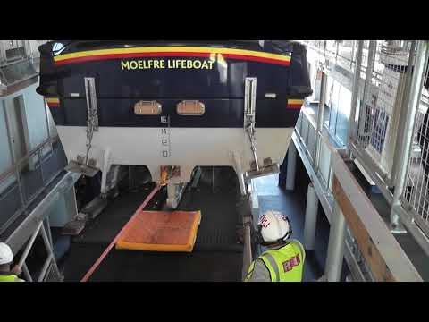 Moelfre Lifeboat Launching 15th May 2016